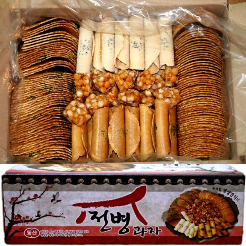 센베과자 삼베과자 전통과자 종합전병 5종 선물세트 1.5kg 2박스