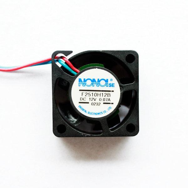 25mm Fan Nonoise DC12V 방열팬 팬쿨러 팬커버 포함