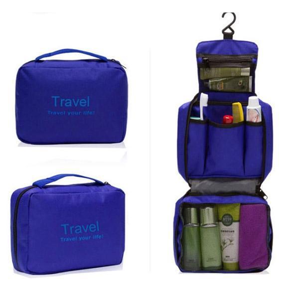 여행용 컬러 워시백 세면도구 가방