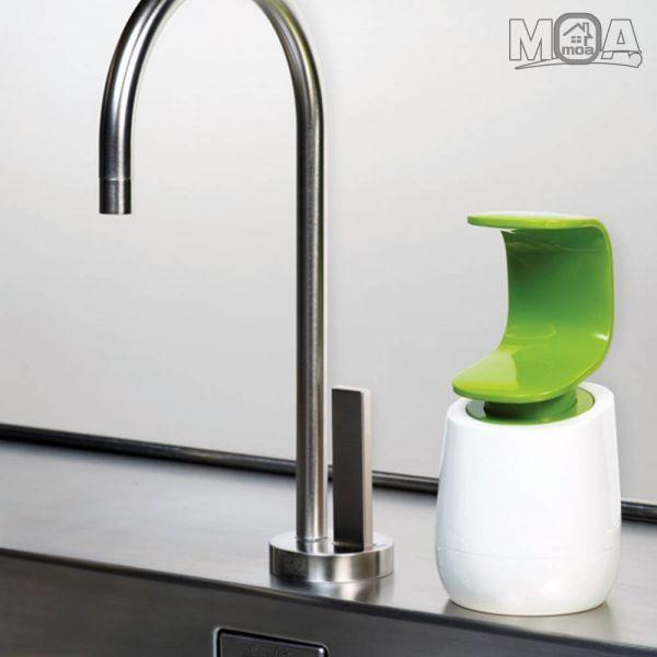 한손펌핑 물비누 주방세제 디스펜서 간편 펌핑손세정제