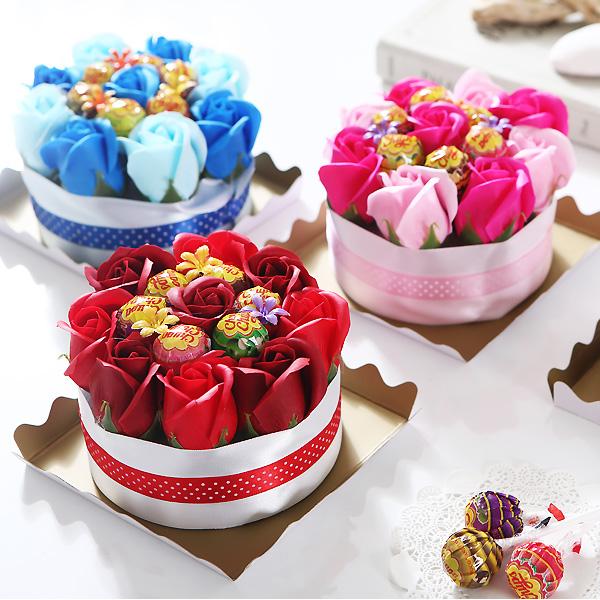 츄파춥스 미니케익 발렌타인데이 화이트데이 초콜릿