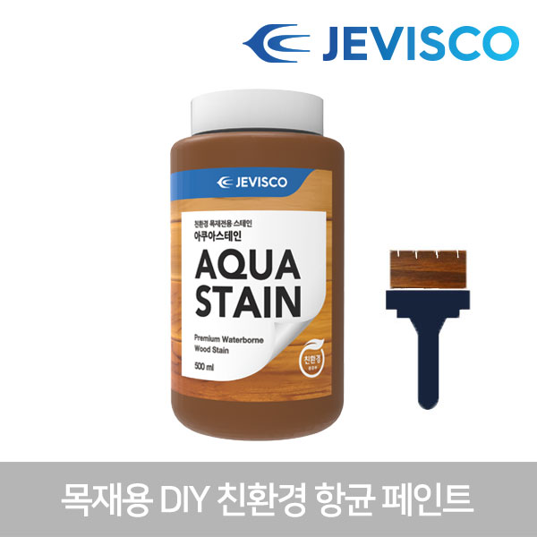 아쿠아스테인 503 마호가니 0.5L 친환경 목재페인트 셀프페인트