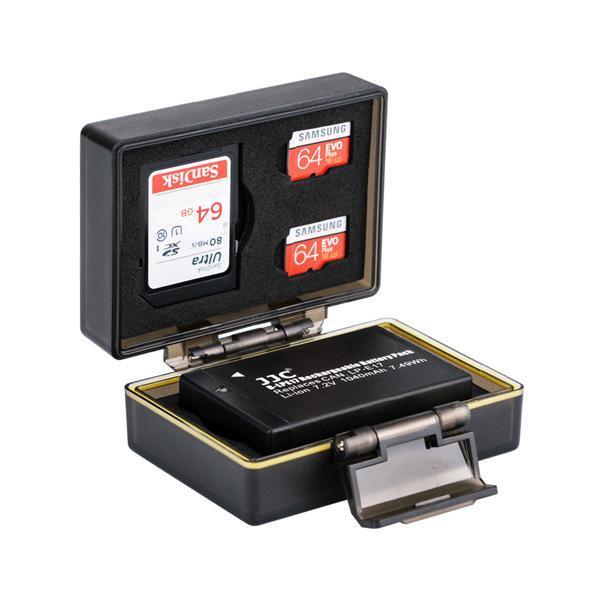 JJC 캐논 LP-E17 배터리 메모리 케이스 BC-LPE17