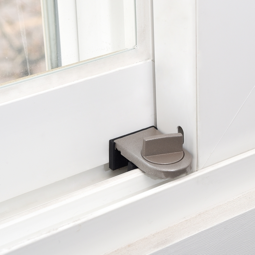 득템상회 창문 안전 잠금장치 창문 안전 잠금 장치 방충망 추락방지 도난방지 침입방지 창문고정 방범클립 미닫이문스터퍼