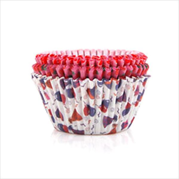 (9513)칼라머핀컵(중)(60매) 머핀컵 베이킹컵