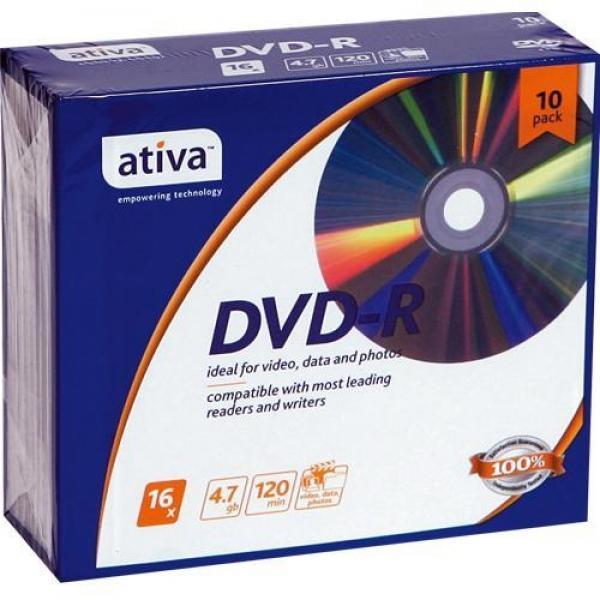 DVD-R 10P(4.7GB ativa)