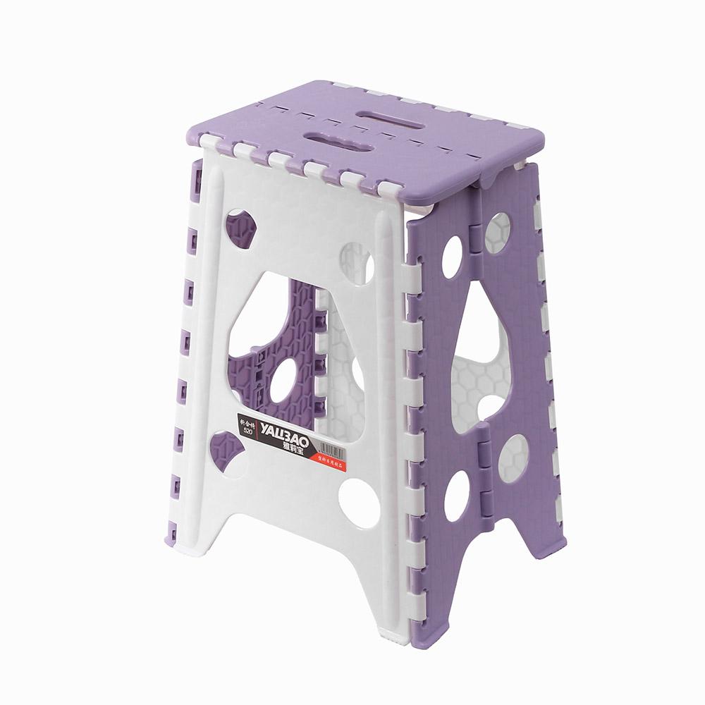 사각 접이식 의자 L 퍼플 낚시의자 욕실의자 보조의자