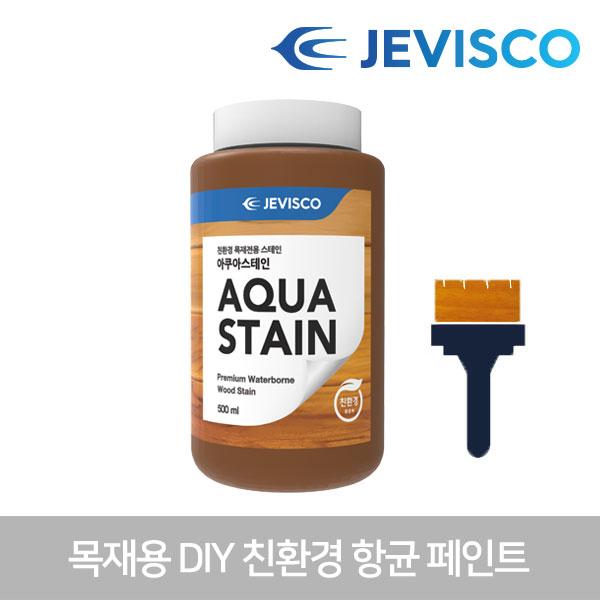아쿠아스테인 502 티크 0.5L 친환경 목재페인트 셀프페인트