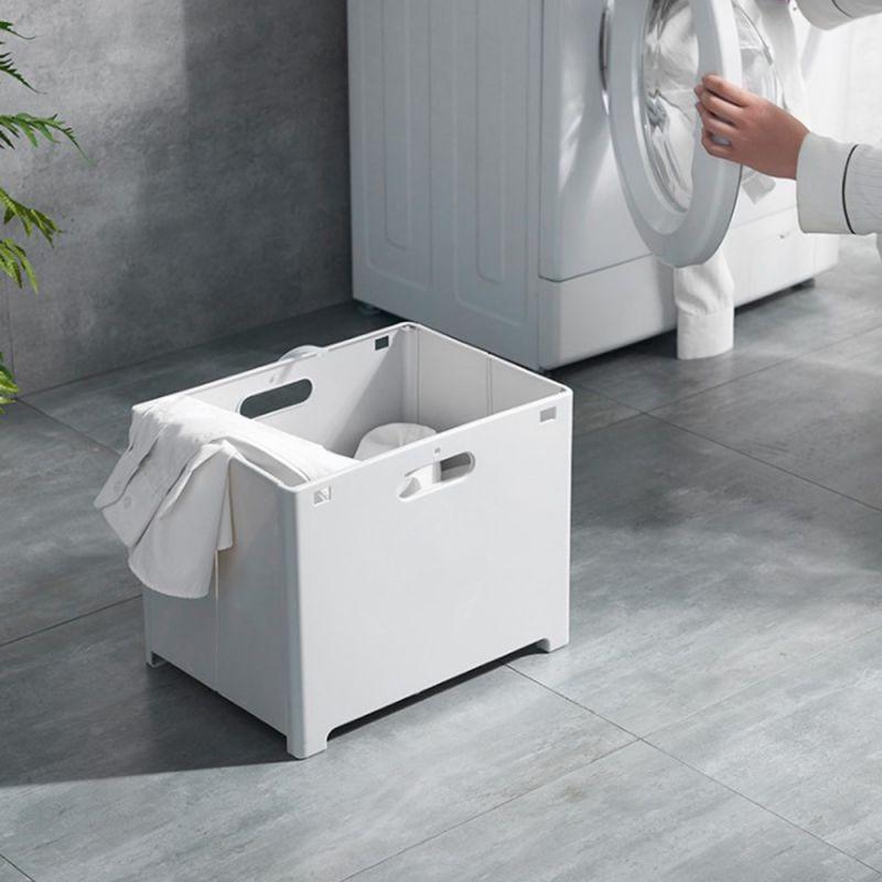 접었다폈다 빨래바구니 세탁수거함 분리수거 양말 속옷 수거함
