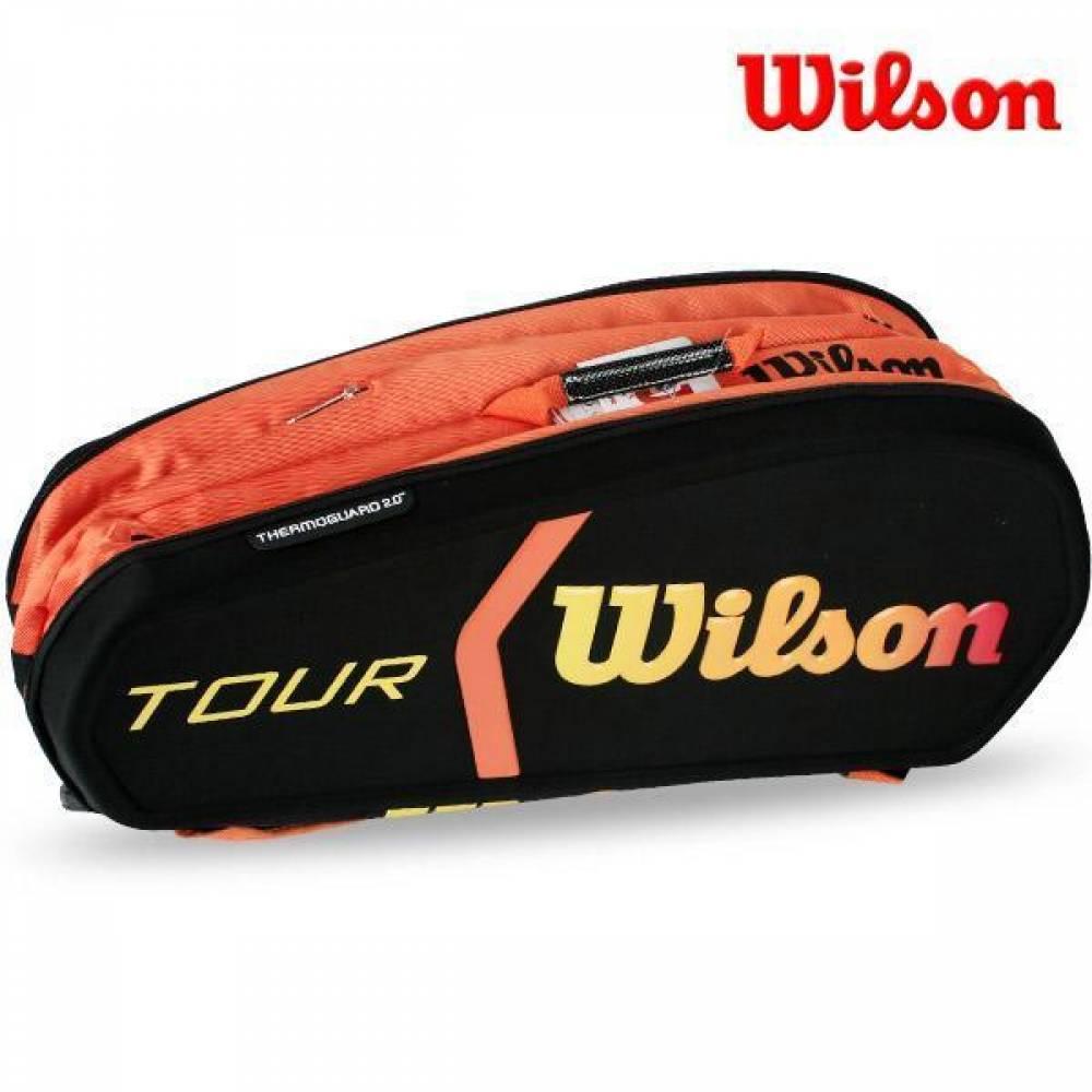 (윌슨) WRZ841509 번 몰디드 9PK 2단가방 BKOR