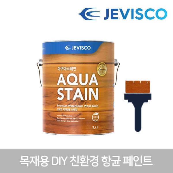아쿠아스테인 306 갈색 3.7L 친환경 목재페인트 셀프페인트