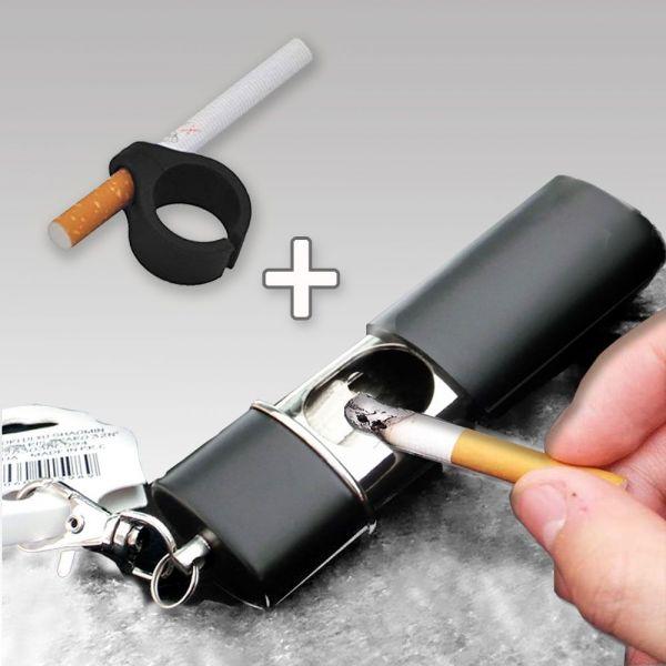 휴대용재떨이 담배반지 세트