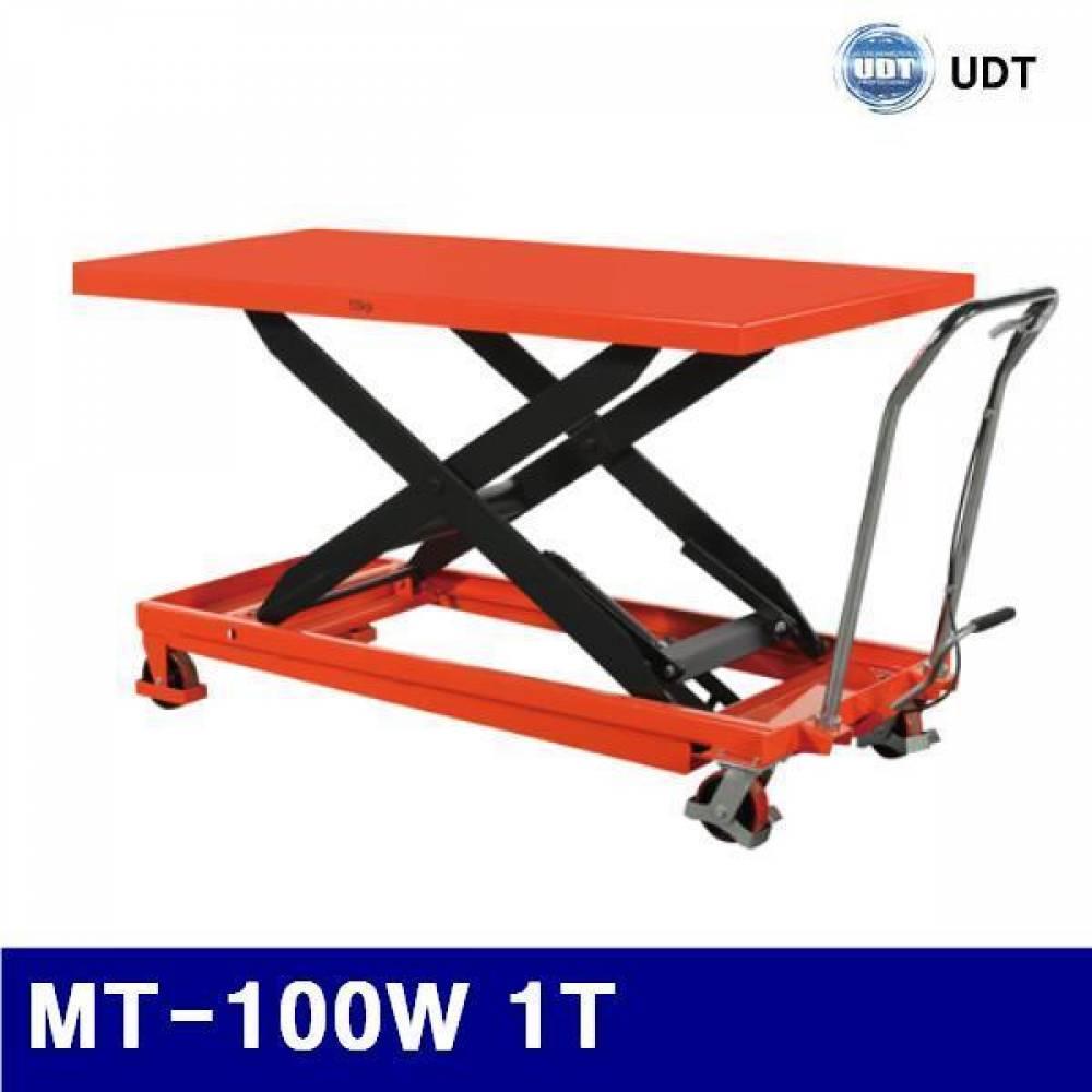 (화물착불)UDT 5915840 광폭형테이블트럭 MT-100W 1T 2 035x750mm (1EA)