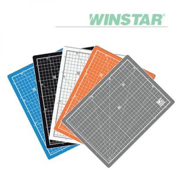 윈스타 PVC 칼라 620X450 A2 데스크 커팅 매트 데스크매트/책상패드